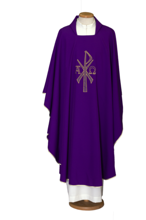 Embroidered chasuble Cod. 65/000451