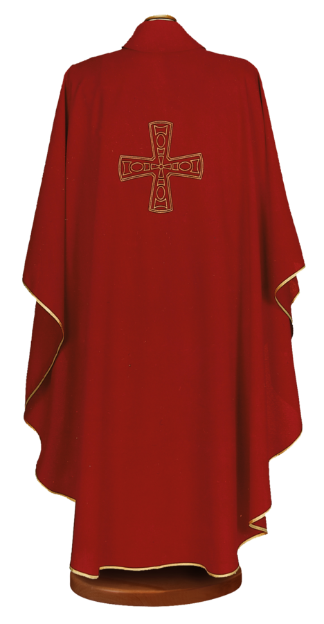 Embroidered chasuble Cod. 65/000453