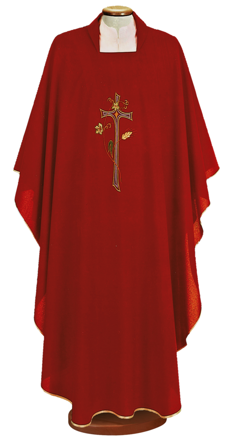 Embroidered chasuble Cod. 65/000455