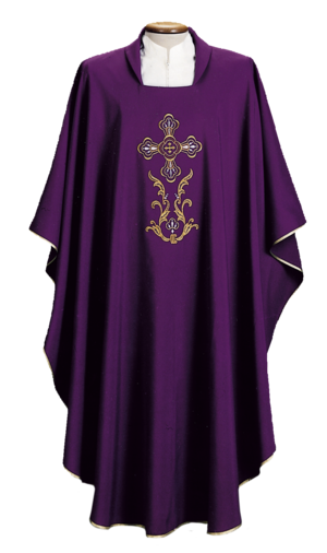 Embroidered chasuble Cod. 65/000456