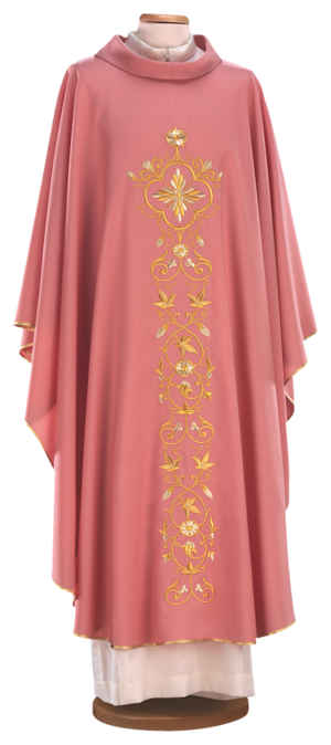 Embroidered chasuble Cod. 65/013056-P