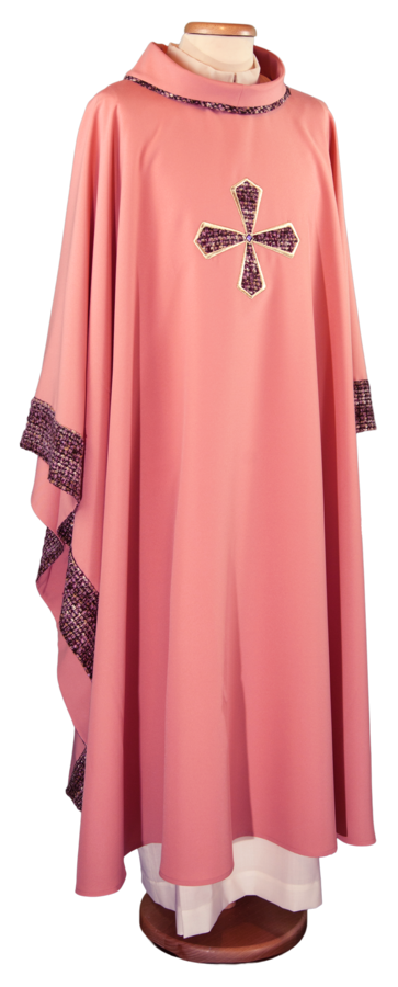 Pink chasuble Cod. 65/016212-P
