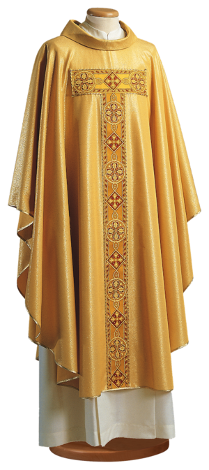 Gold chasuble Cod. 65/000262
