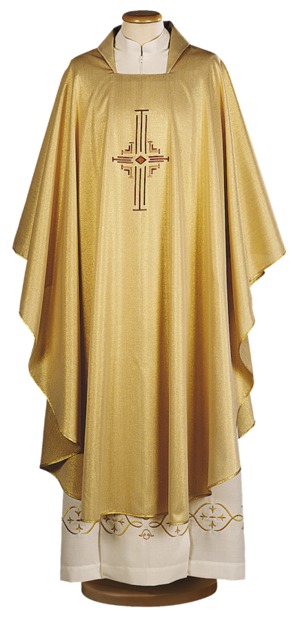 Gold chasuble Cod. 65/000470ORO