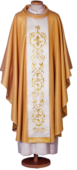 Gold chasuble Cod. 65/013056ORO