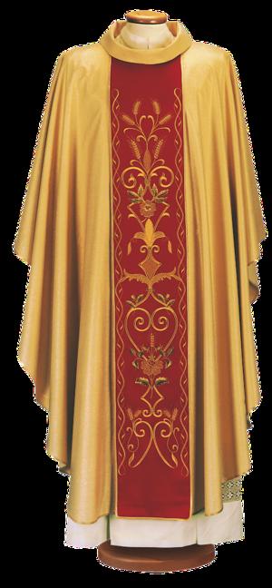 Casula con stolone Cod. 65/026186ORO
