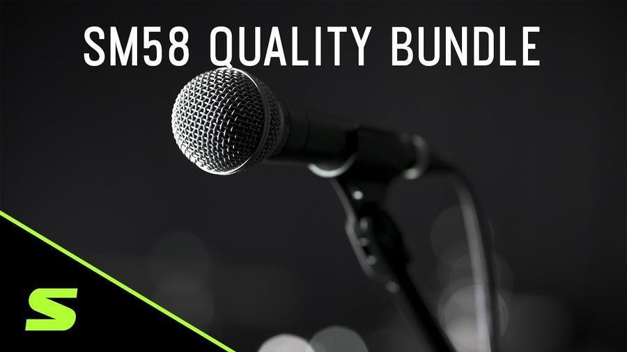 SHURE SM58 Quality Bundle
