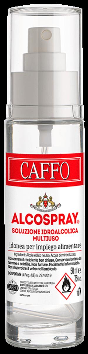 ALCOSPRAY - Igienizzante Spray Alcolico 75° anche per uso alimentare