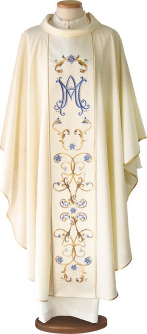 Marian chasuble Cod. 65/027108-M