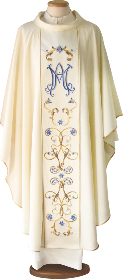Marian chasuble Cod. 65/027108-M