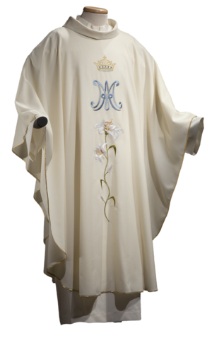 Marian chasuble Cod. 65/05236