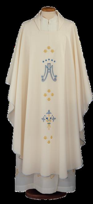Marian chasuble Cod. 65/000348