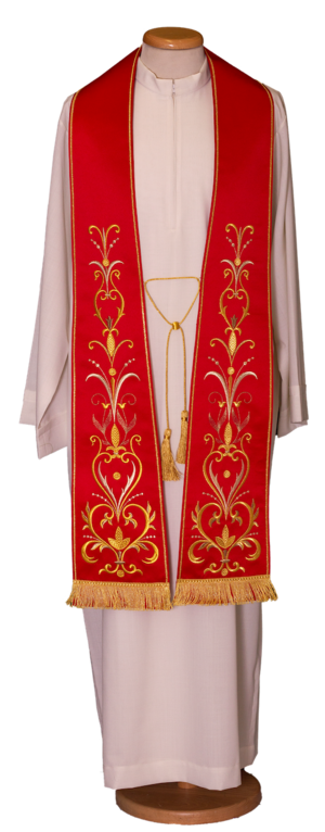 Embroidered stole Cod. 80/027777