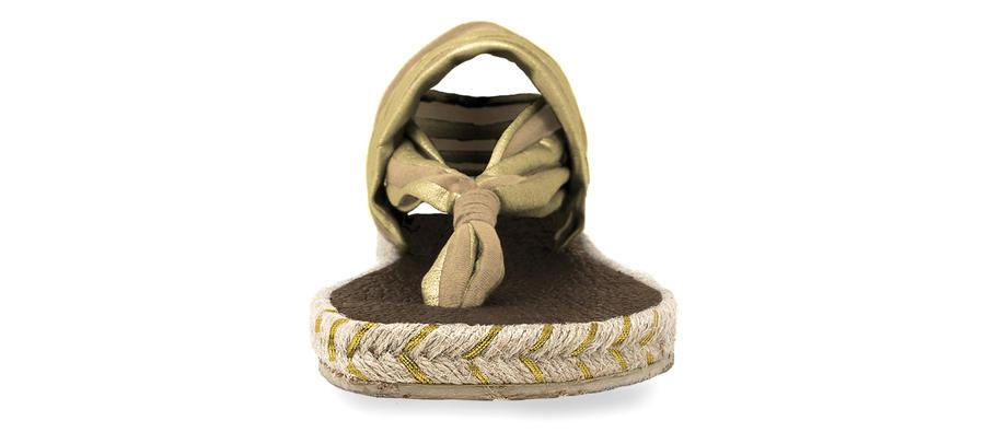 Nalho - Ganika - Sandal Metallic Camel Gold