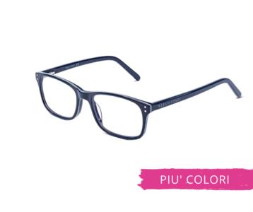 Montatura in plastica OcchialeAmico OSRC04 - Lenti neutre Blu Protect incluse