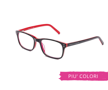 Montatura in plastica OcchialeAmico OSRC04D - Lenti neutre Blu Protect incluse