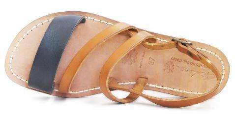 L'artigiano del Cuoio - 598 - Cuoio / Blu