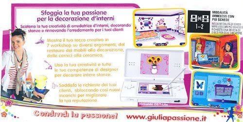 Giulia passione Arredatrice NUOVO! - Nintendo DS - Ver. ITA