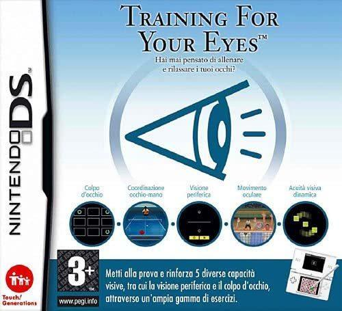 Training For Your Eyes NUOVO! - Nintendo DS - Ver. ITA