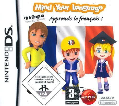 Mind Your Language  Apprends le français NUOVO!  - Nintendo DS - Ver. EUR