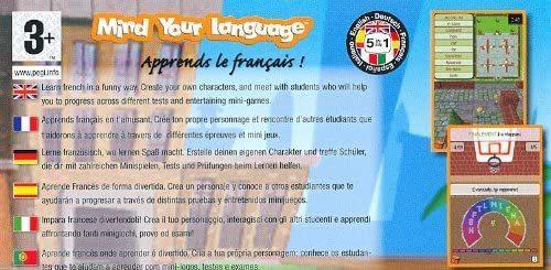 Mind Your Language  Apprends le français NUOVO!  - Nintendo DS - Ver. EUR