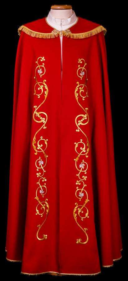 Machine embroidered cope Cod. 86/P15703