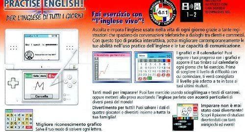 Practise English! Per l'Inglese di Tutti i Giorni NUOVO! - Nintendo DS - Ver. ITA