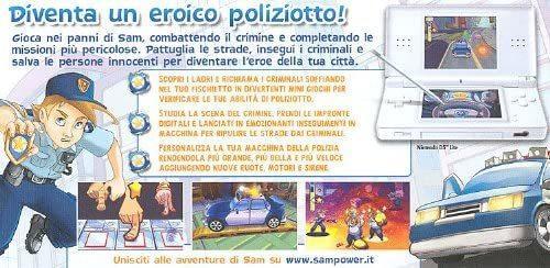 Sam Power Missione Poliziotto NUOVO! - Nintendo DS - Ver.ITA