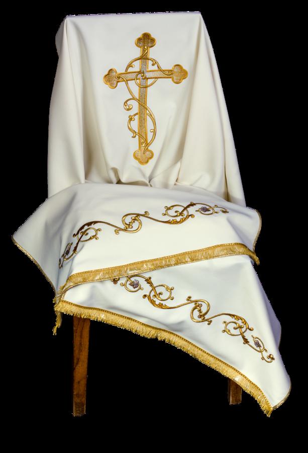Humeral veil, machine embroidered Cod. 86/V15703