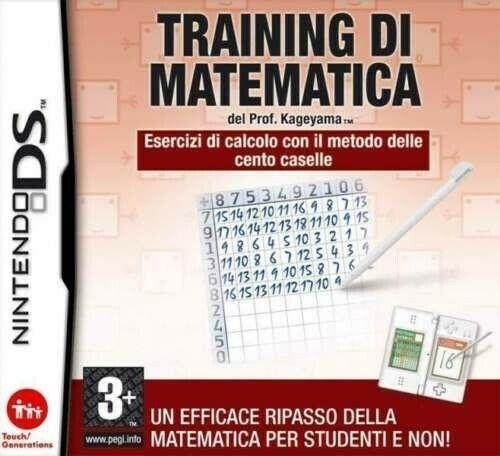 Traning di Matematica del Prof. Kageyama NUOVO! - Nintendo DS - Ver. Ita