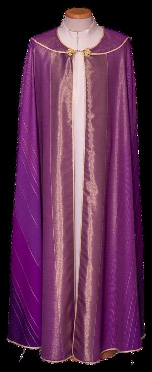 Piviale in lana e lurex Cod. 86/P02007
