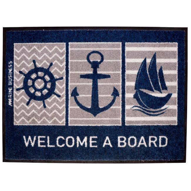 Tappetino Antiscivolo Welcome A Board - Offerta di mondo Nautica 24