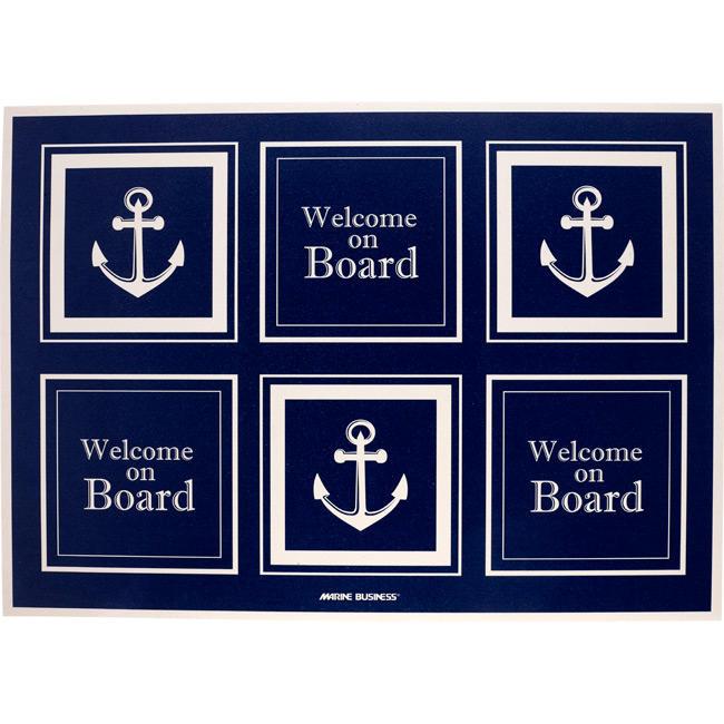 Tappetino in Vinile Antiscivolo Welcome On Board - Offerta di mondo Nautica 24
