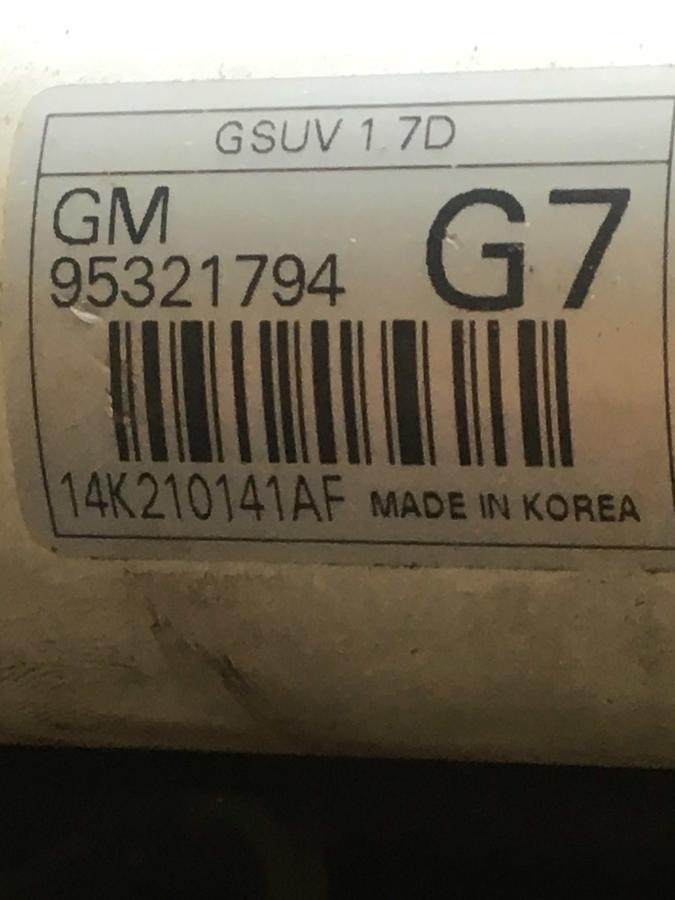 Pacco Radiatori Completo Opel Mokka - 95321794 -  GM623209 -  F00S3D2027 - 95081734 - 95152162 - 95368416