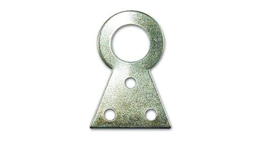 Attaccaglia fissa in acciaio lucido n.3 pz 10 - 38x28 mm.