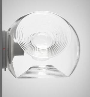 Lampada da Parete/Soffitto Eyes di Fabbian in Vetro Soffiato e Metallo, Varie Finiture - Offerta di Mondo Luce 24