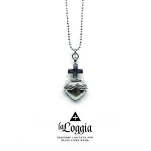 Collana Sacro Cuore - Argento 925