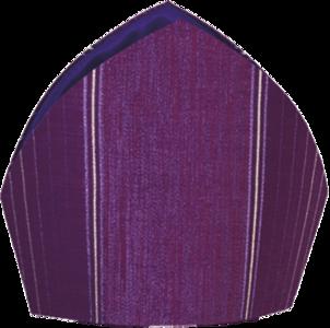 Mitra in lana lurex