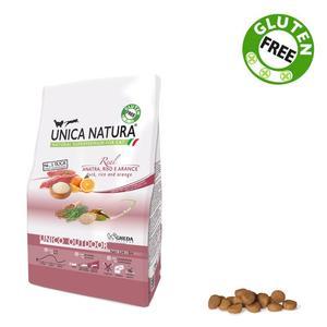 Unica Natura Outdoor Gatto Anatra & Riso Disponibile nei formati 350 gr - 1,5 Kg