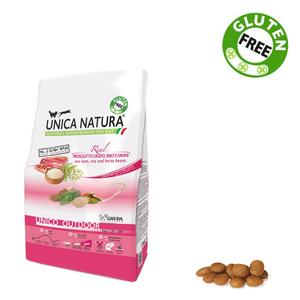 Unica Natura Outdoor Gatto Prosciutto Crudo & Riso Disponibile nei formati 350 gr - 1,5 Kg