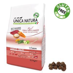 Unica Natura Maxi Cane Cervo Disponibile nei formati 2,5 - 12 Kg