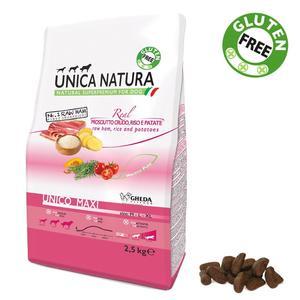 Unica Natura Maxi Cane Prosciutto Crudo Disponibile nei formati 2,5 - 12 Kg