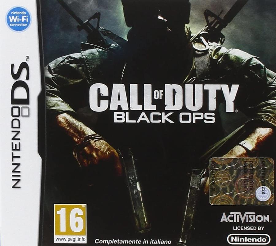 Call Of Duty 7 Black Ops NUOVO! - Nintendo DS - Ver.ITA