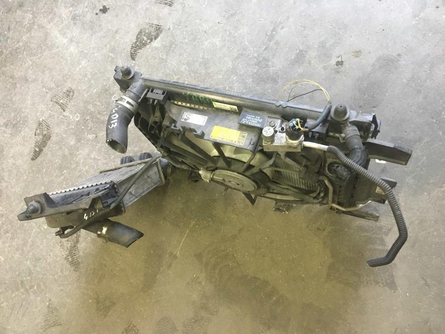 Pacco Radiatori Completo Toyota Yaris  MF422133 - 16363-0G050 - 168000-9760 - MF422750-7062 - CZ447750-7382