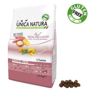 Unica Natura Mini Cane Anatra Disponibile nei formati 800 gr - 2,5 Kg - 7,5 Kg