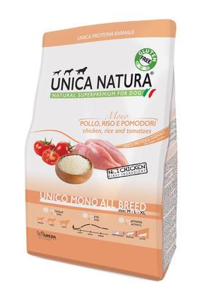 Unica Natura All Breed Cane Pollo Disponibile nei formati 2,5 - 12 Kg