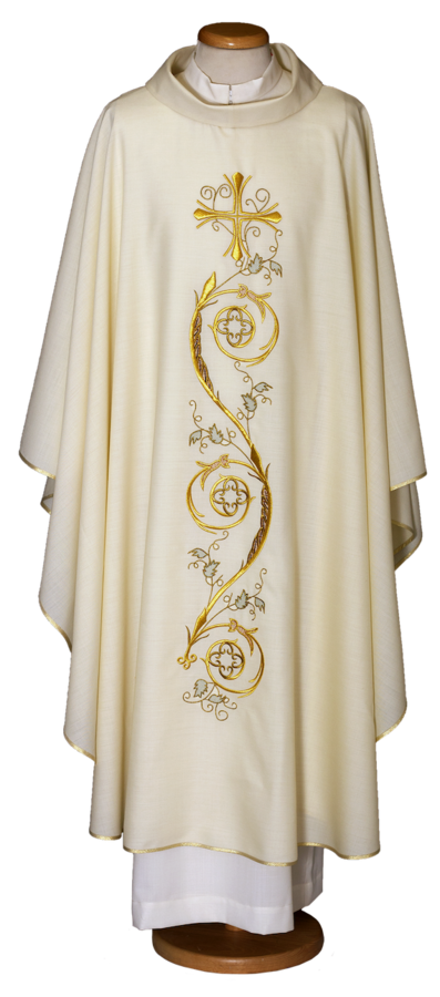 Chasuble embroidered mantle. Cod. 65/011648
