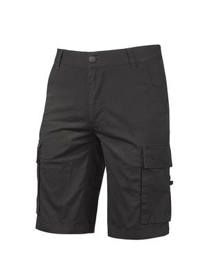 Pantalone Corto Modello Summer Black Carbon U-Power Taglie dalla S alla 2XL