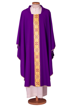Cheap chasuble in polyester Cod. 50/GAL001