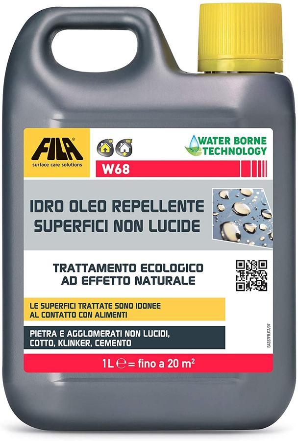 FILA W68 - Antimacchia per cotto pietra naturale cemento 5 LT